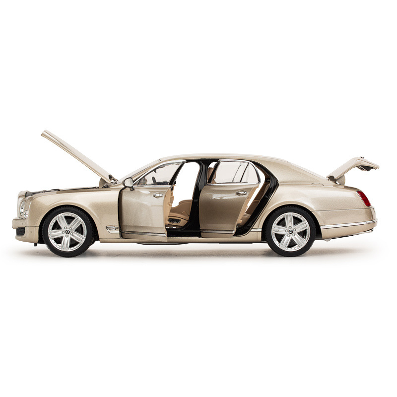 Rastar 1:18 Bentley Alloy Simulation Car Models Toys For Children